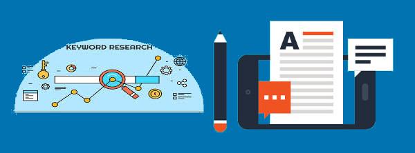 pesquisa de palavras-chave e conteúdo para blogs/sites mobile