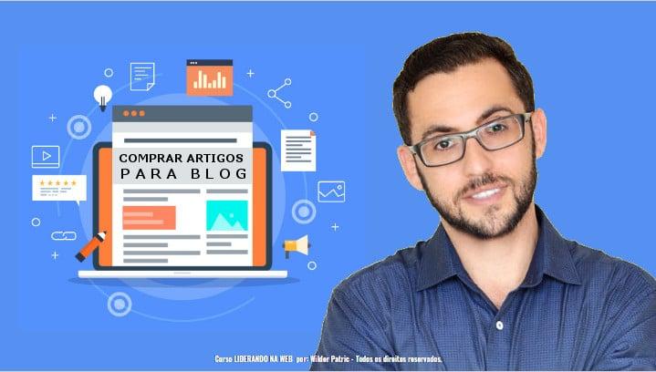comprar artigos para blog