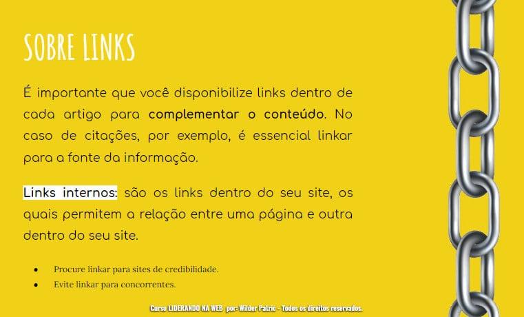 seo onpage links
